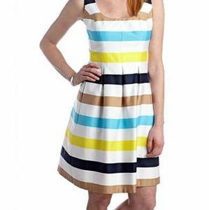 Nine west cotton midi dress with pockets